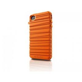 Musubo  Rubber Band gelskin pro iPhone 4/4S, oranžová