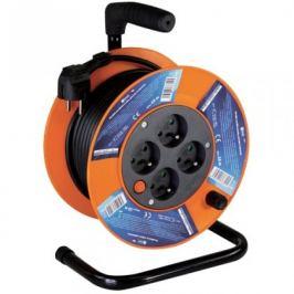 Prodlužovací kabel na bubnu, 4 zásuvky, 15M, PVC 1,5mm