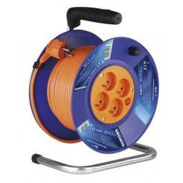Emos P19420, PVC prodlužovací kabel na bubnu, 4 zásuvky 20m