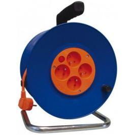 Emos P19450, PVC prodlužovací kabel na bubnu, 4 zásuvky 50m