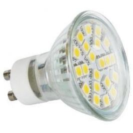 LED žárovka reflektorová 24 LED 4W GU10 denní bílá