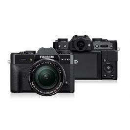 Fujifilm X-T10 Black + objektiv XC16-50mm