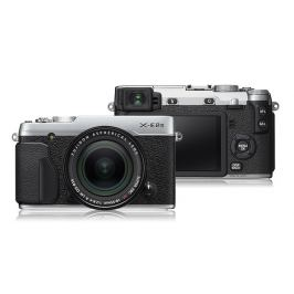 Fujifilm X-E2s silver + objektiv XF 18-55mm