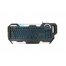 C-Tech Chiron (GKB-109) CZ/SK,7 barev podsvícení, USB