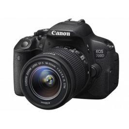 Canon EOS 700D Body zrcadlovka 18.0MPix + 18-55mm IS STM