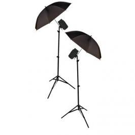 König foto studio - 2x deštníky,stojany,lampy 200W - KN-STUDIO70
