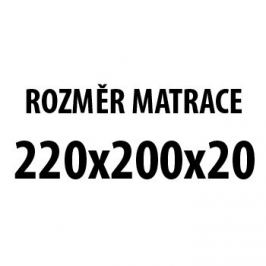 Niketa - Matrace (220x200x20)