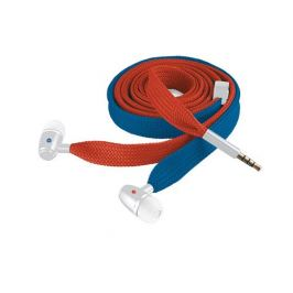 TRUST Sluchátka Urban Revolt Lace In-ear Headset - red & blue, šp