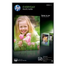 HP Everyday Glossy Photo Paper-100 sht/10 x 15 cm, 200 g/m2, CR75