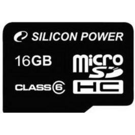 Silicon Power micro SDHC 16GB class 6 + SD adaptér