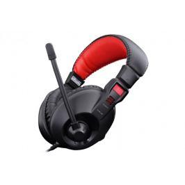 E-Blue Conqueror I., sluchátka s mikrofonem, černá, 3.5mm konekto