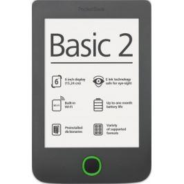 POCKETBOOK 614 Basic 2 Grey + 100knih ZDARMA