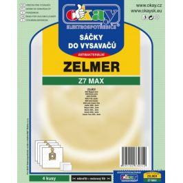 Sáčky Z7 MAX do vysavače Zelmer 4 ks
