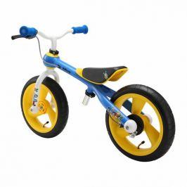 Jdbug odrážedlo Training Bike CC žluto/modro/bílá