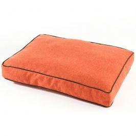 Zopet Oranžová matrace pro psa s lemem 60 x 50