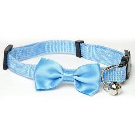 Modrý motýlek pro psa s rolničkou | 21 - 33 cm Modrá