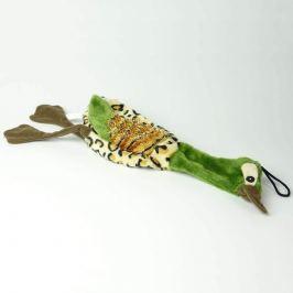 Zopet Zelená plyšová kachna pro psa | 40 cm