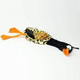 Zopet Černá plyšová kachna pro psa | 40 cm