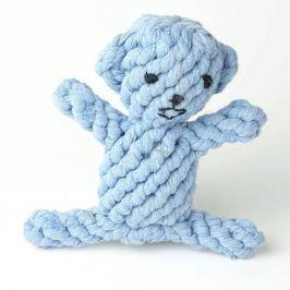 Zopet Modrá zaplatená opice pro psa | 17 cm