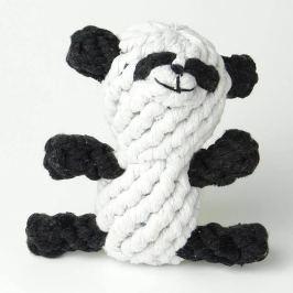 Zopet Černo-bílá zapletená panda pro psa | 11 cm