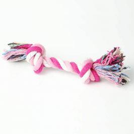 Zopet Růžová přetahovací kost pro psa | 18 cm