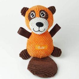 Zopet Oranžový plyšový bobr pro psa | 29 cm