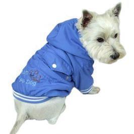 Světle modrá bunda pro psa Big dog 28 cm