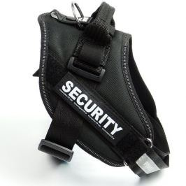 Zopet Černý postroj pro psa Security | 40 - 108 cm 40 - 50 cm