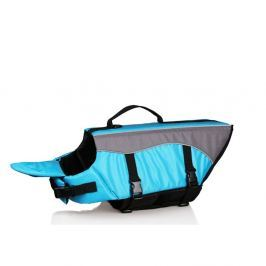Modrá plovací vesta pro psa 35 cm