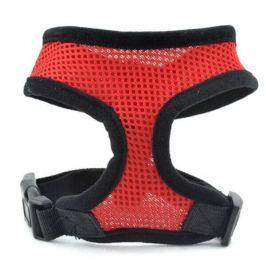 Zopet Červené síťkované kšíry pro psa 23 - 28 cm