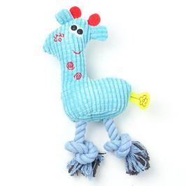 Zopet Modrá plyšová slepice pro psa | 25 cm