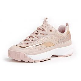 Guess pudrové tenisky Kaysie Insert Running Shoe