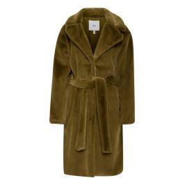 Ichi khaki zimní kabát Ihfrederica JA Fir Green