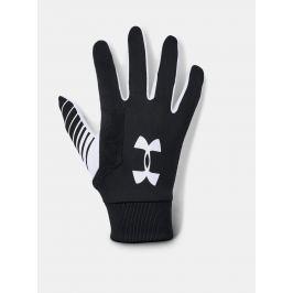 Černé pánské fotbalové rukavice Under Armour