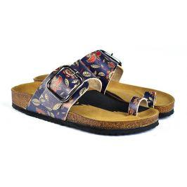 Calceo modré pantofle Thong Sandals Navy