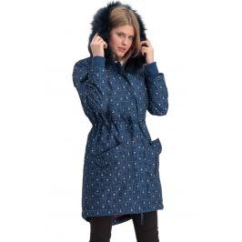 Blutsgeschwister modrý zimní kabát Winter Wonder Woods Parka Ahoi Anchor