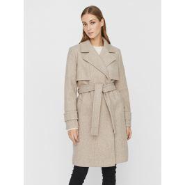 Béžový kabát VERO MODA