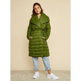 Zelený dámský zimní prošívaný kabát ZOOT Trisha