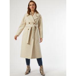Béžový zimní kabát Dorothy Perkins