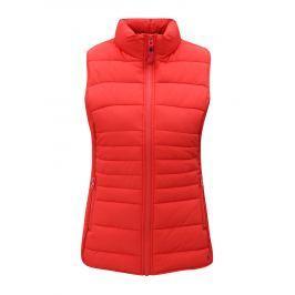 Červená dámská prošívaná vesta Tom Joule Fallow