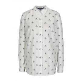 Krémová dámská vzorovaná košile Tom Joule Lucie
