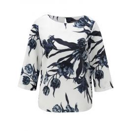 Modro-bílá květovaná halenka Dorothy Perkins