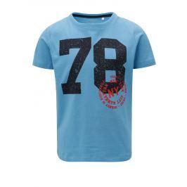Modré klučičí tričko s potiskem name it Ted