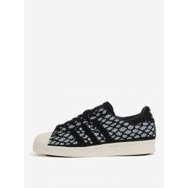 Bílo-černé dámské semišové tenisky adidas Originals Superstar