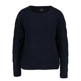 Tmavě modrý svetr ONLY Ivy