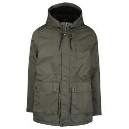 Khaki zimní parka s kapucí SUIT Ron