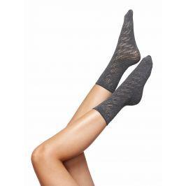 Šedé vzorované ponožky Oroblu Kathy
