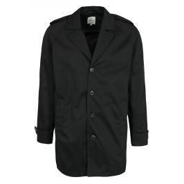 Černý kabát s kapsami Jack & Jones New David