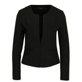 Černé sako s jemným vzorem VERO MODA Mia