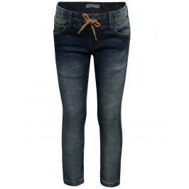 Modré klučičí džíny s opraným efektem name it Thank